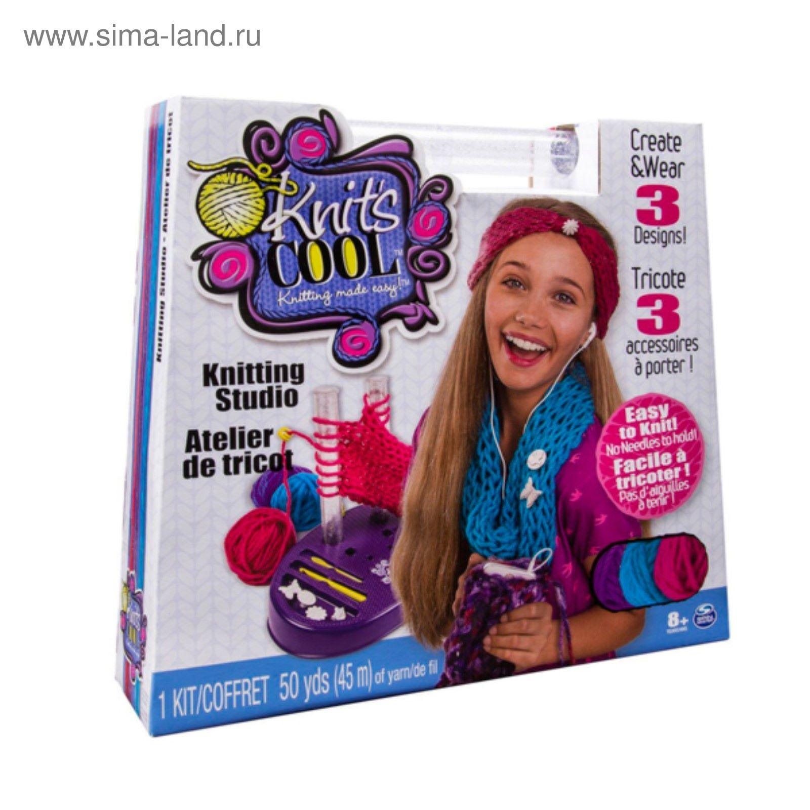 игрушка Knits Cool студия вязания 2070123 купить по цене от