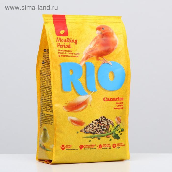 Корм RIO  для канареек, в период линьки, 500г