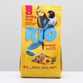 Корм RIO для средних попугаев в период линьки, 500 г