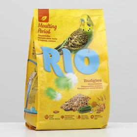 Корм RIO для волнистых попугаев в период линьки, 1 кг