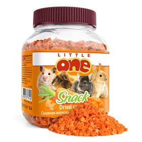 Лакомство Little One для грызунов, сушёная морковь, 200 г