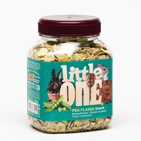 Лакомство Little One для грызунов, плющеный горох, 230 г