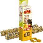 Палочки Little One  для хомяков, крыс, мышей и песчанок, с фруктами и орехами, 55гр*2шт
