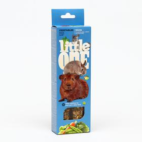 Палочки Little One с овощами для морских свинок, кроликов и шиншилл, 60 г х 2 шт