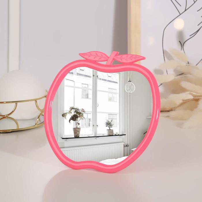 Зеркало складное-подвесное, круглое, d=15см, без увеличения, цвет МИКС