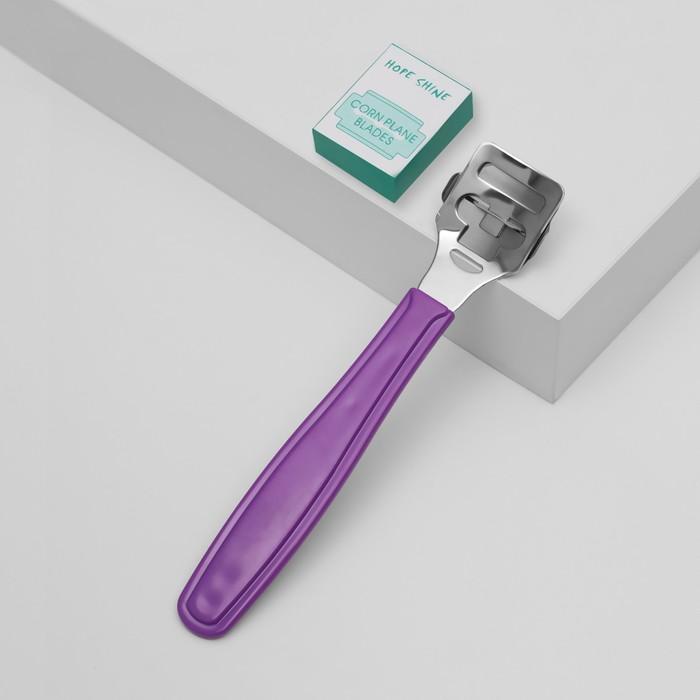 Станок для педикюра с лезвиями, цвета МИКС