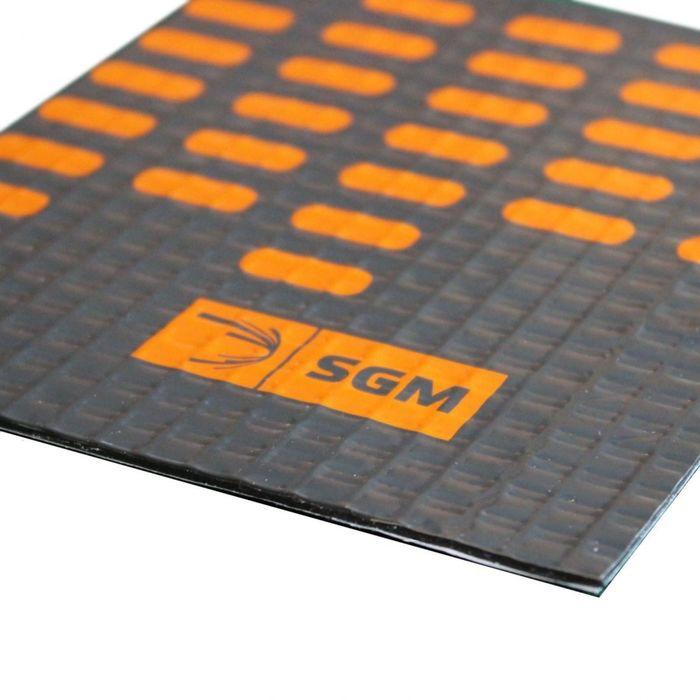 Вибродемпфирующий материал Алюмаст Альфа 4 СТ(М4Ф) 4 мм, лист 0,5 х 0,7 м