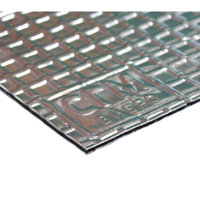 Вибродемпфирующий материал Алюмаст CГМ Base (М2Ф1) (60 мкм) 2 мм, лист 0,5 х 0,7 м