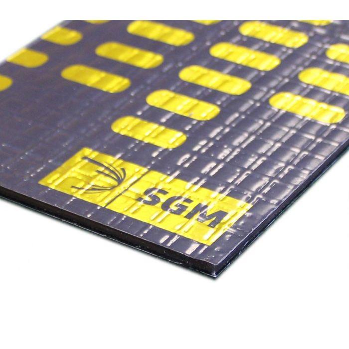Вибродемпфирующий материал Комби Люкс (БМФ) 4 мм, лист 0,5 х 0,8 м