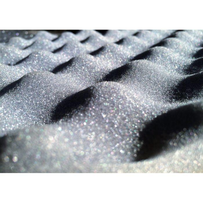 Звукопоглощающий материал Виолон ВЭЛ волна 25 КС 25 мм, лист 0,75 х 1 м