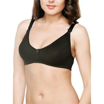 Бюстгальтер для кормящих женщин «Модель 9733», цвет чёрный, размер 80C + ПОДАРОК ультравпитывающие тонкие прокладки для груди Ultra Dry Comfort