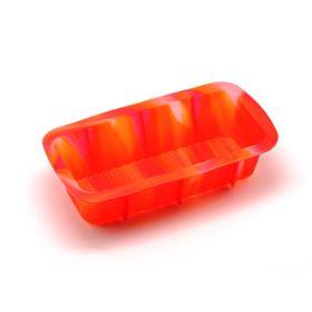 Форма для выпечки Atlantis «Каравай», цвет оранжевый