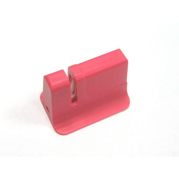 Точилка для ножей Atlantis, керамическая, розовая