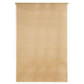 Штора рулонная, бамбук, размер 100х160 см