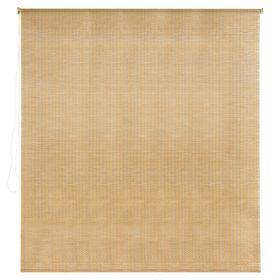 Штора рулонная, бамбук, размер 140х160 см