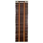 Жалюзи деревянные 50х160 см, цвет венге