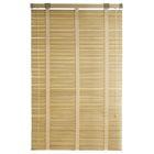 Жалюзи деревянные 60х160 см, зебрано белое