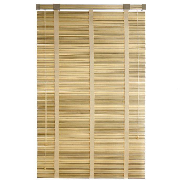 Жалюзи деревянные, размер 100х160 см, цвет зебрано белое