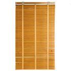 Жалюзи деревянные 60х160 см, зебрано желтое