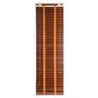 Жалюзи деревянные 50х160 см, зебрано красное