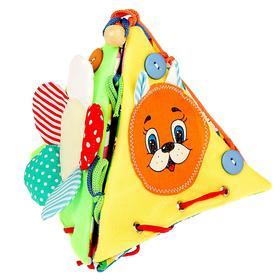 Развивающая игрушка «Пирамидка-раскрывашка»