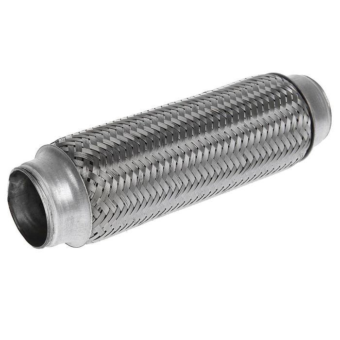 Гофра глушителя 48х240 мм, алюминизированная сталь