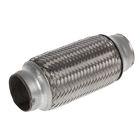 Гофра глушителя 40х150 мм, алюминизированная сталь