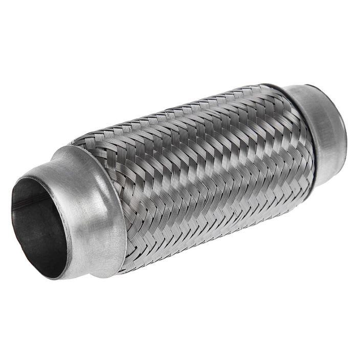 Гофра глушителя 45×160 мм, алюминизированная сталь