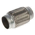 Гофра глушителя 51х120 мм, алюминизированная сталь