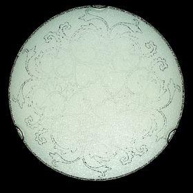 Светильник настенно-потолочный 'Узор на кругу' на 2 лампы E27 40W диам 30 см Ош