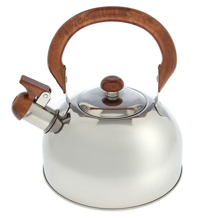 """Чайник """"Палисандр"""", макс. объем 2 л, со свистком, фиксированная ручка"""