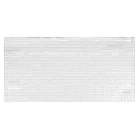 Панель ПВХ мозаика Белая 485х960