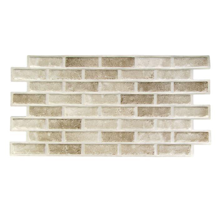 Панель ПВХ камень Опал 485х960
