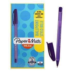 Ручка шариковая PAPER MATE InkJoy 100 Cap, толщина письма 1,0 мм, стержень фиолетовый