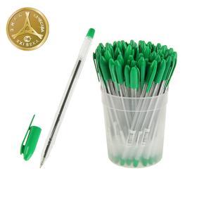 Ручка шариковая «Стамм» VeGa, узел 0.7 мм, чернила зелёные на масляной основе, стержень 152 мм