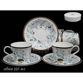 Чайный набор «Райская птица», 12 предметов, в подарочной упаковке