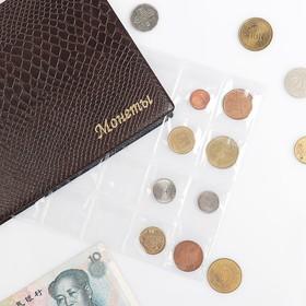 Лист для монет горизонтальный 250*200 мм на 24 ячейки 48х52 мм Ош
