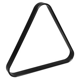 Треугольник Junior пластик чёрный ø38мм Ош