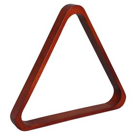 Треугольник Classic, дуб, коричневый, d-68мм Ош