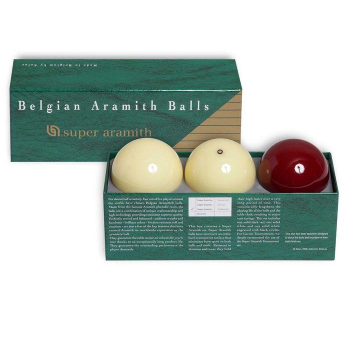 Шары Super Aramith Traditionnel Carom ø61,5мм 3 шара