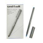 Ручка-роллер Uni-Ball II Micro UB-104 0.5мм синие чернила
