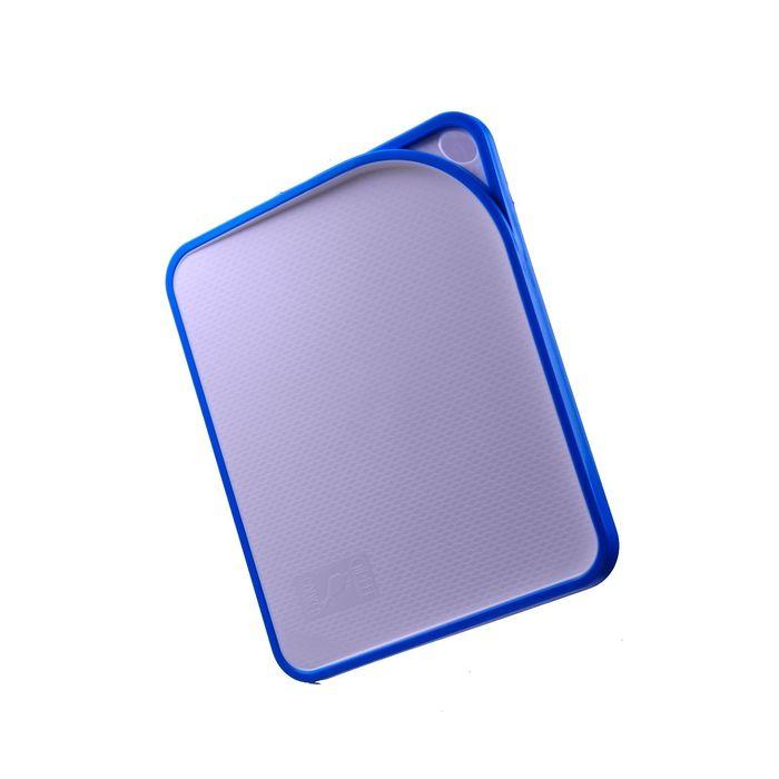Доска разделочная ACRUX 33,8х27,7х1,6 см, голубая