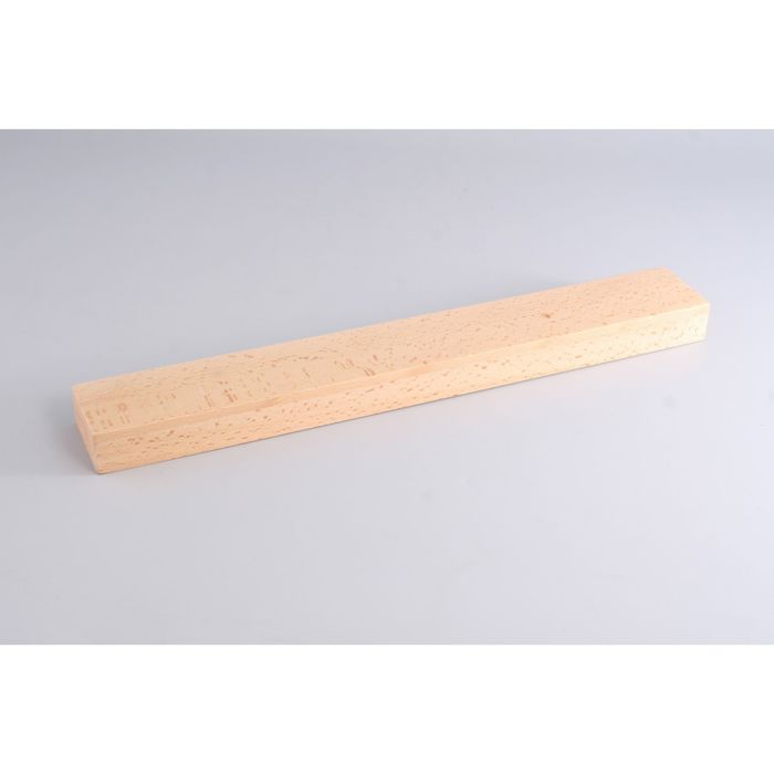 Настенная магнитная планка для хранения ножей Gipfel, 42x6x3 см, бук
