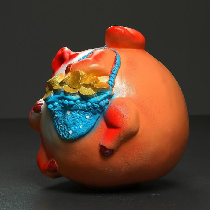 """Копилка """"Свинья шар в шляпе"""" 30см"""