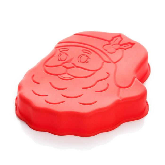 """Форма для выпечки  """"Дед Мороз"""""""