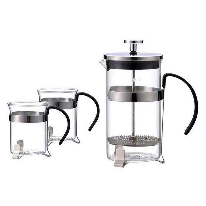 Чайно-кофейный набор (800/200мл) De Luxe