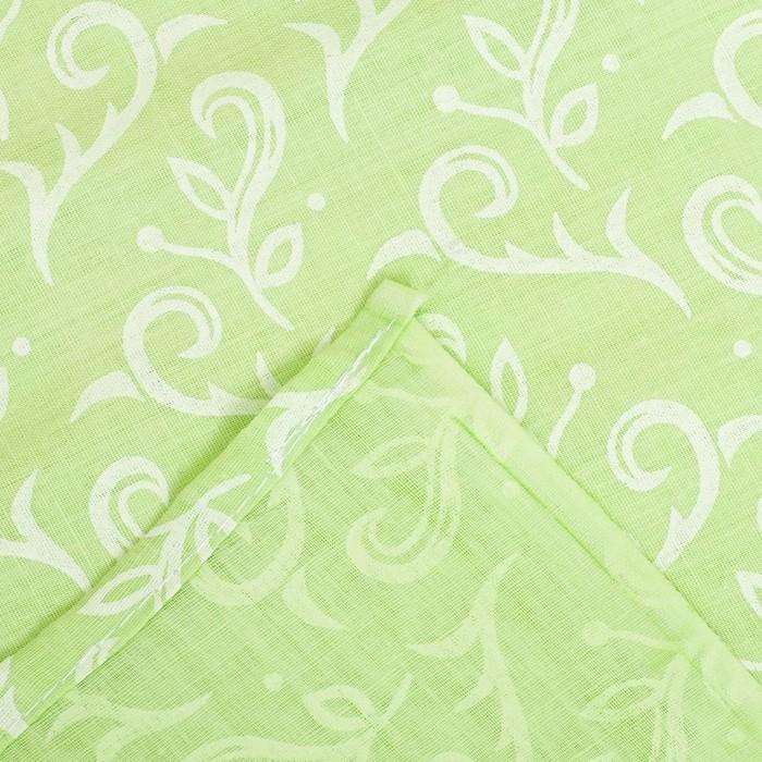 Детское постельное бельё (3 предмета), цвет зелёный 07.27
