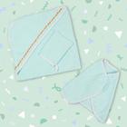 Комплект для купания (3 предмета), цвет бирюзовый 717