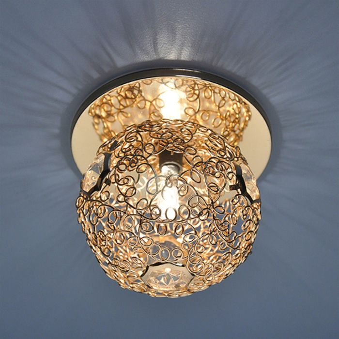 Светильник Elektrostandard G9 1002 золото