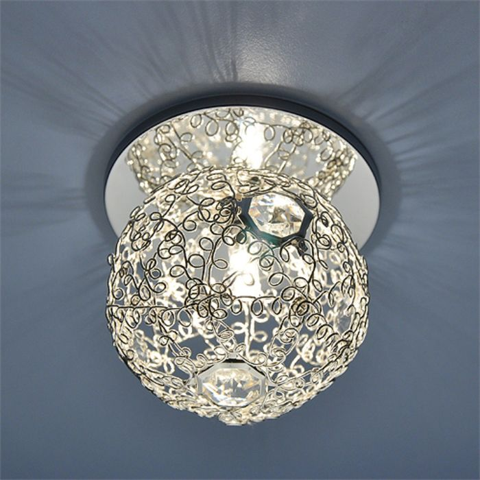 Светильник Elektrostandard G9 1002 серебро